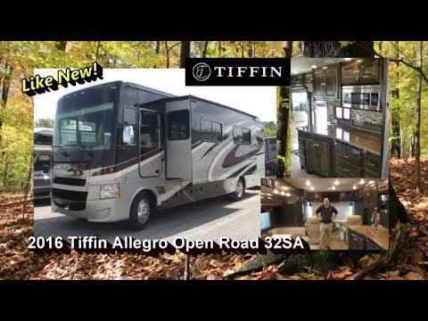 Pre Owned 2016 Tiffin Allegro Open Road 32sa Mount Comfort Rv