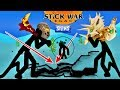 Stick War: Legacy HUGE Update | Savage Giant vs Griffon Earthquake ability | Gameplay 2019 (Part 35)