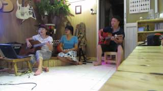 Trăng dưới chân mình - guitar