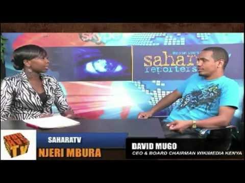 David Mugo Talks About Wikimedia Kenya and ICT Growth in Kenya - Sahara TV