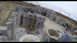 Buduję dom. murowanie komina 5