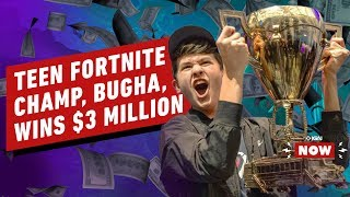 Fortnite World Cup Champ Bugha's $3 Million Payday - IGN Now