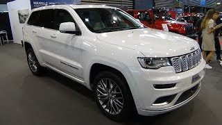 2018 Jeep Grand Cherokee Summit Signature 3.0 V6 - Exterior + Interior - Salon Automobile Lyon 2017