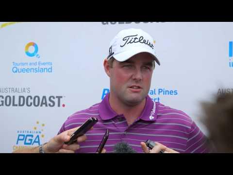 Mark Leishman green side interview - Aust. PGA Championship 2014