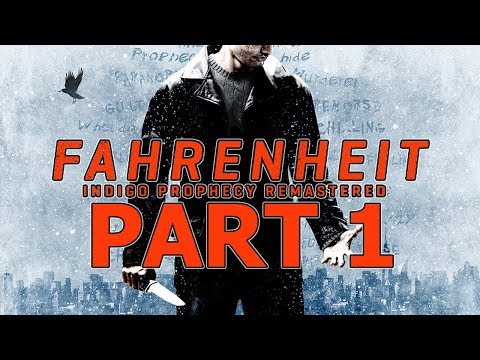 "Fahrenheit: Indigo Prophecy Remastered - Let's Play - Part 1 - ""The Murder, Investigation"""