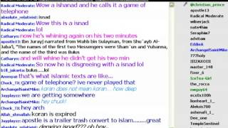 Muslim says Paul founded Christianity in debate. Doesn t know Paul messenger of Allah 8-8