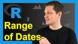 Erstellen Bereich der Daten in R (Beispiel) | so Generieren Sie ein Datum Reihenfolge | seq & as.Datum-Funktion