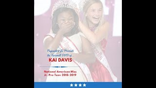 National American Miss Farewell DVD by Pageants 2 Go - Kai Davis