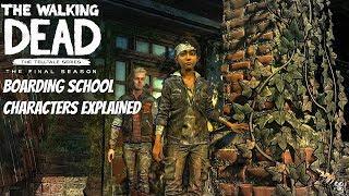 """The Walking Dead:Season 4: """"The Final Season"""" Boarding School Characters Breakdown - twd s4"""