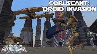 Star Wars Battlefront 2 | Coruscant: Droid Invasion