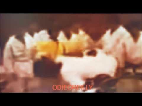 Bruce Lee side kick on Bob Wall (Ohara) ETD set RARE footage
