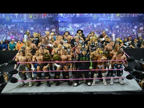 EPIC CUSTOM WWE FIGURE COLLECTION! (RING FULL OF CUSTOMS)