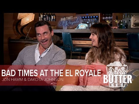 Bad Times at the El Royale: Jon Hamm and Dakota Johnson
