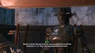 Fallout 4 - KLEO the Woman Robot