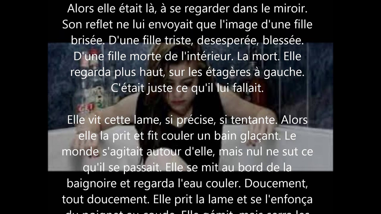 Texte Damour Triste Youtube