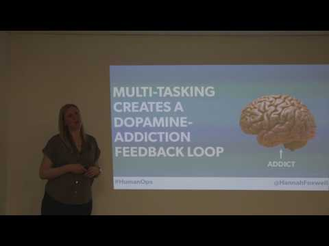 DevOps Oxford - Information Overload and the Real Cost of Interruptions by Hannah Foxwell