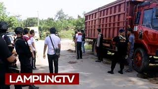 Ikuti Polisi Bebaskan Sopir Disandera di Lampung Utara