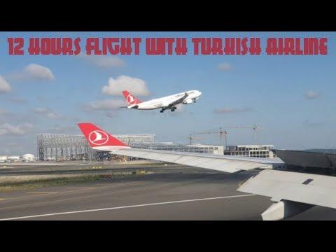 Terbang 12 jam buat jemput Jamaah Gambia! | Flight Review Turkish Airline Economy Class