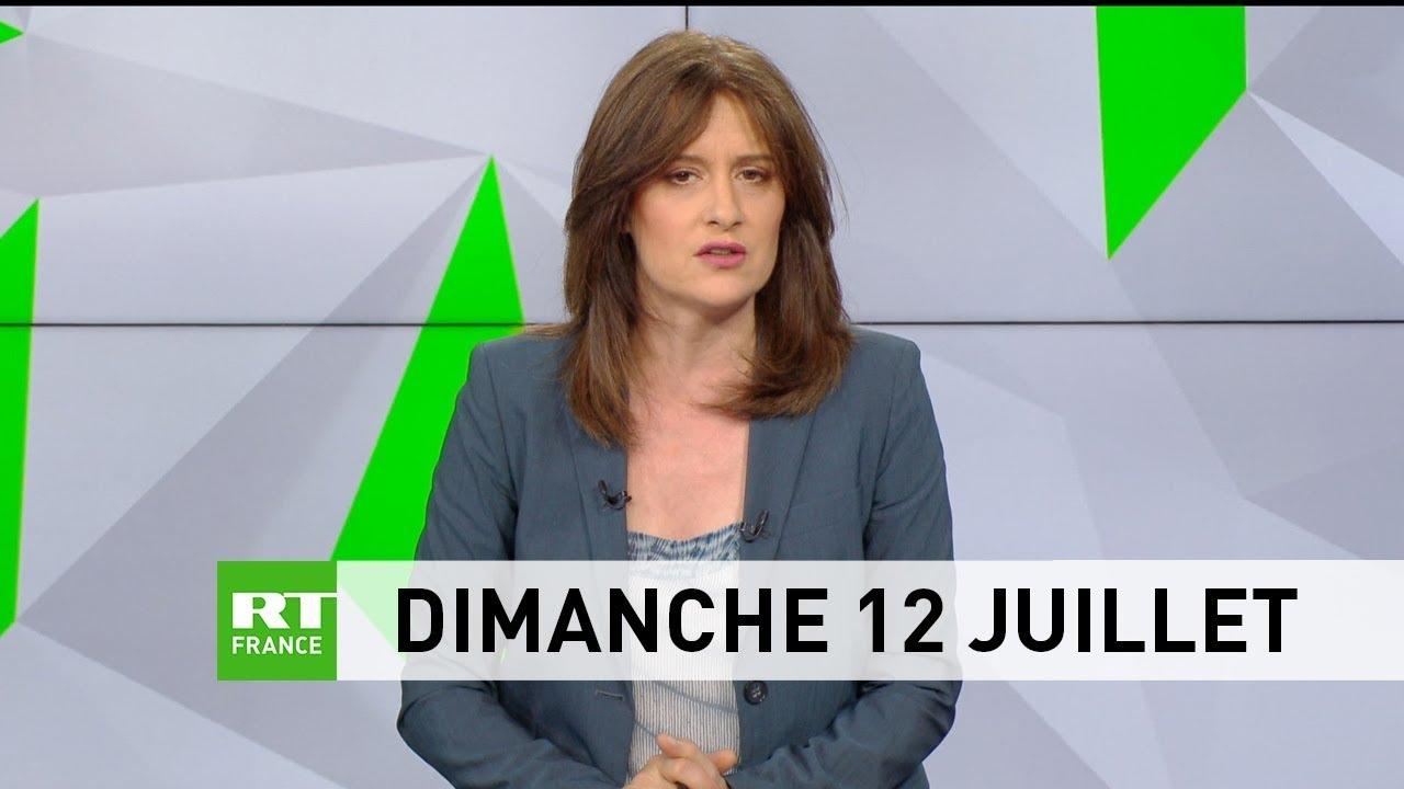 Le JT de RT France – Dimanche 12 juillet 2020 : discothèque, Mali, coronavirus