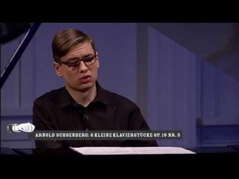 Schoenberg: Sechs Kleine Klavierstücke Op. 18 Nr 5