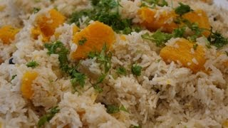 Jamaican Pumpkin Rice Recipe - How To Cook Great Food Scotch Bonnet Coconut Thyme