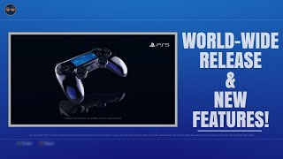 PLAYSTATION 5 ( PS5 ) WORLD WIDE RELEASE / NEW Features ! - Playstation Boss Talks !