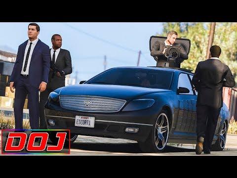 GTA 5 Roleplay - DOJ #45 - Senator Escort