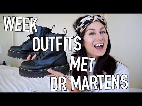 WEEK IN OUTFITS - DR MARTENS JADON 👞