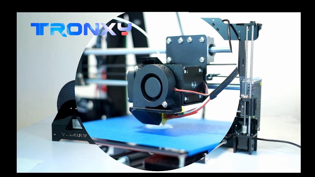Tronxy P802M assemble video