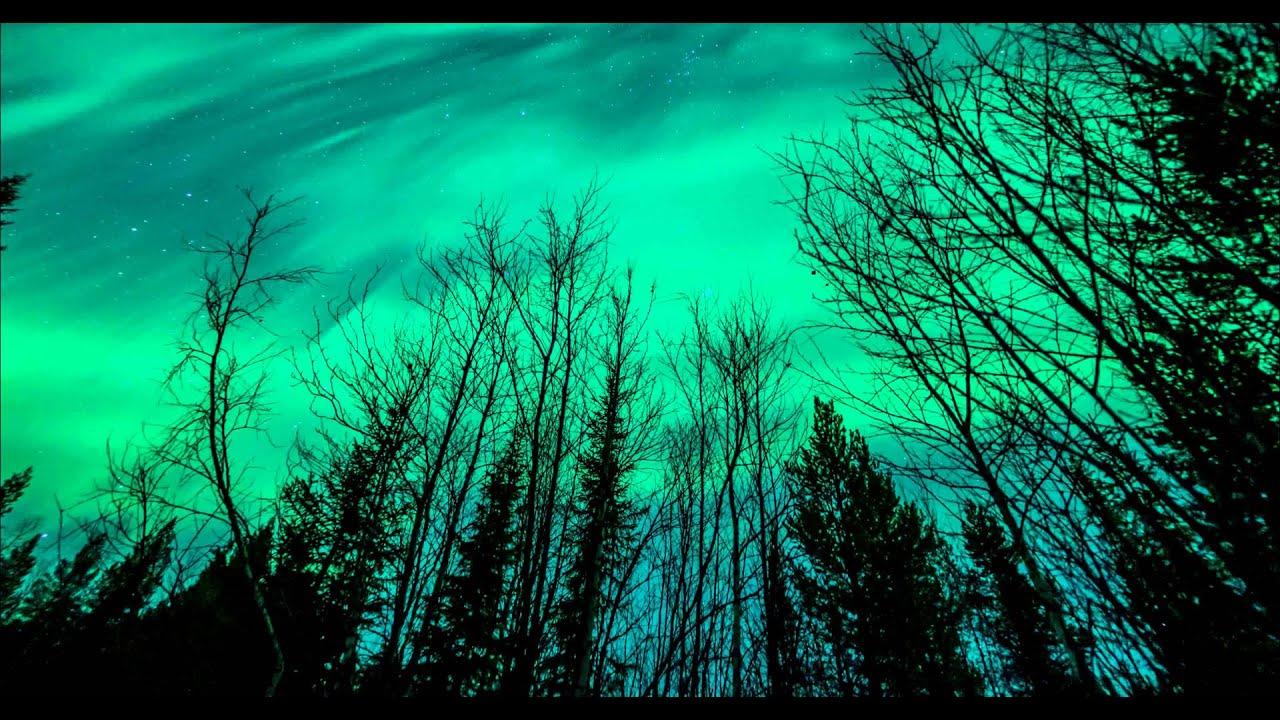 sweden northern lights in 4k resolution youtube