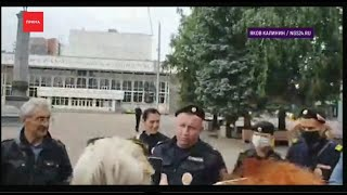 Красноярку обвинили в организации митинга в поддержку Сергея Фургала