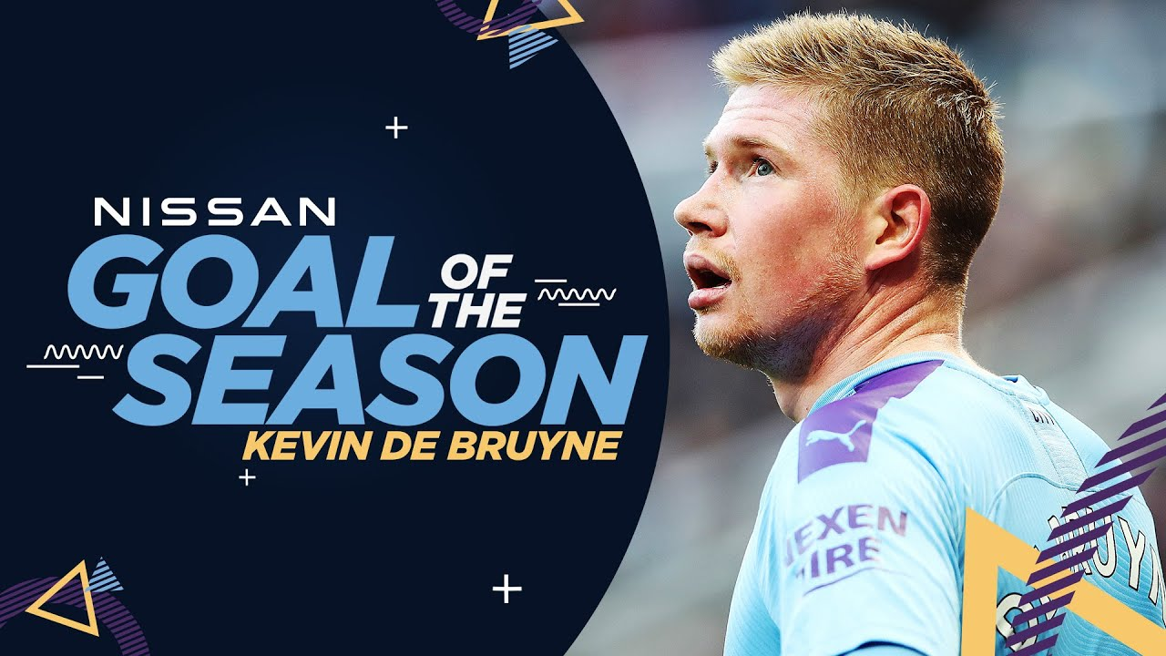 NISSAN GOAL OF THE SEASON | 19/20 | KEVIN DE BRUYNE - YouTube