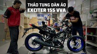 Tháo tung Exciter 155 VVA xem những điểm mới bên trong