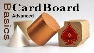 CardBoard Advanced Basics Tut๐rial guide for model making: modeling for Designers & Architects