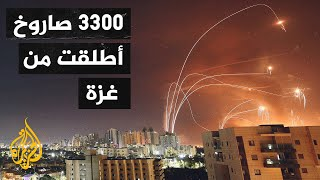 رغم  الحصار.. صواريخ الفصائل الفلسطينية تنشر الرعب بين الإسرائيليين