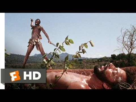 The Naked Prey (9/9) Movie CLIP - Flight to the Fortress (1966) HD