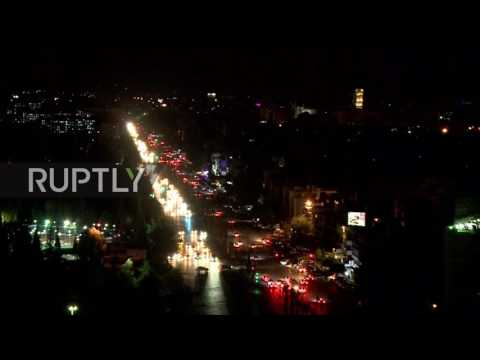 Syria: Calm night in war-weary Damascus as 'safe-zone' deal goes into effect