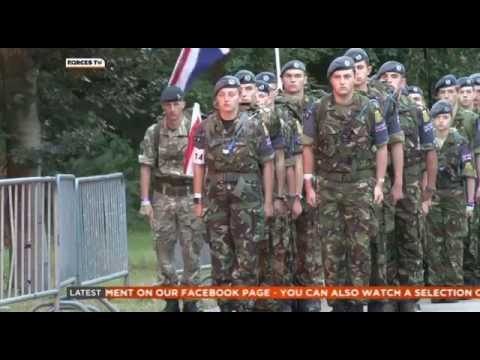 Military Personnel Flock To Netherlands For Walking Event