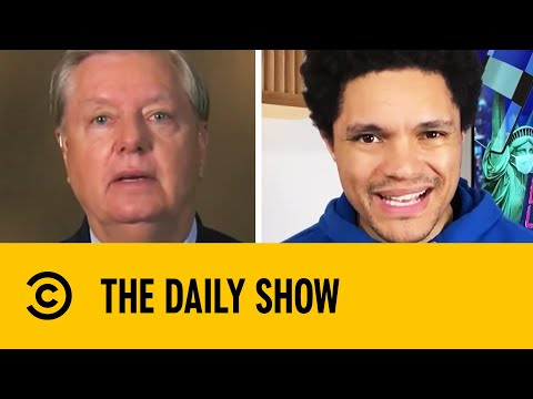 Lindsey Graham Pleads For Donations On Live TV To Help Campaign | The Daily Show With Trevor Noah