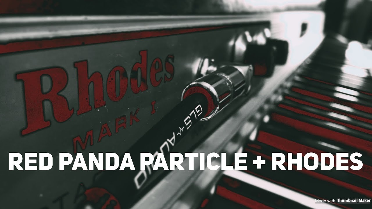 Red Panda Particle V2 - real-time granular synthesis pedal