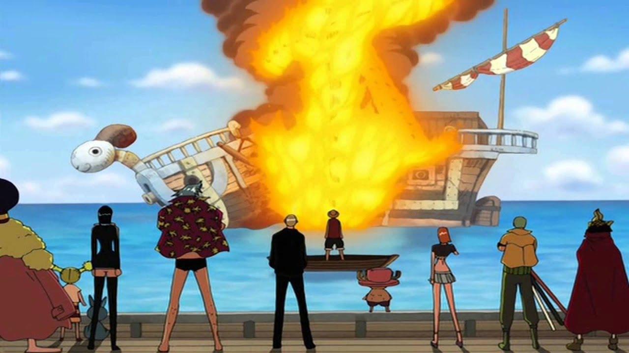 One Piece - Addio Going Merry - YouTube