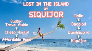 LOST IN SIQUIJOR | FIRST SOLO TRAVEL (Vlog 37)