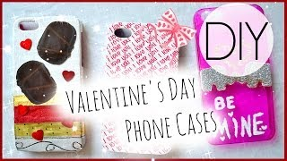 DIY Valentine's Day Phone Cases Thumbnail