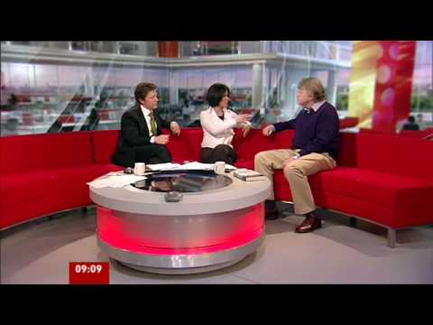 Author Michael Dobbs on BBC Breakfast
