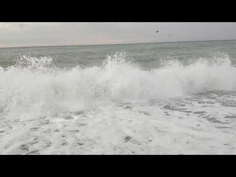 29 ноября 2019 / пгт. Новомихайловский / Погода, зарисовка поселка, море