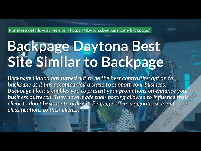 Backpage Florida Best Alternative To Backpage Backpage Daytona Best Site Similar To Backpage Wattpad