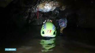 Zo ziet de Thaise grot er van binnen uit - RTL NIEUWS