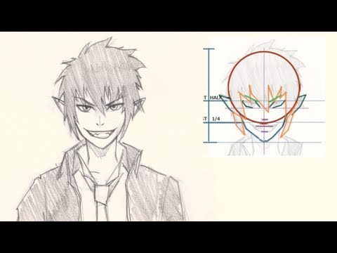 how-to-draw-rin-from-blue-exorcist-manga