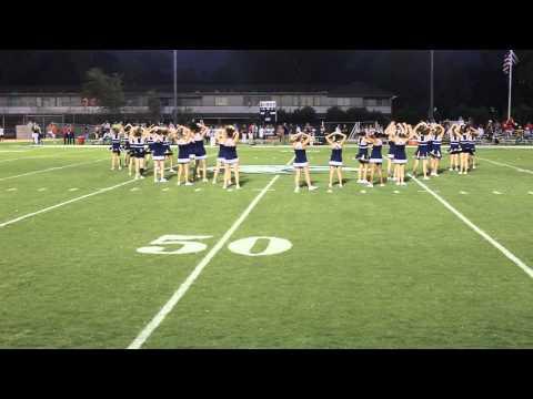 Second Baptist School Cheer Half Time Performance