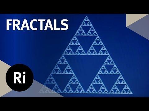 Ian Stewart explicando cómo surgen los fractales a partir de reglas muy simples